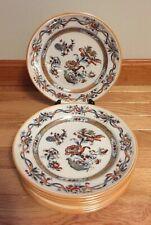 "Set of 9 Antique Minton Belmont Japan 9-1/4"" Plates Lunch Dinner"
