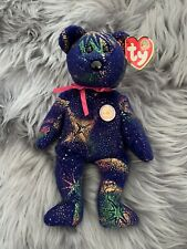 Ty Vintage Beanie Bear Name Commet