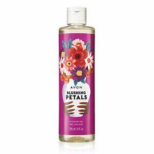 AVON Blushing Petals Shower Gel 10 ounces NEW! Bath and Body Shower Gel *4 PACK*