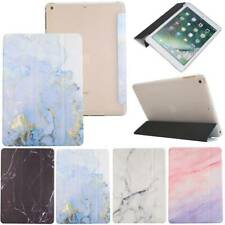 "Smart Marble Case Cover Stand For iPad 9.7"" 6th 7th Gen 10.2"" Mini Air Pro 10.5"""