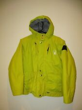 SPYDER Hooded Snowboard Ski Jacket - Youth L (14) Lime Green