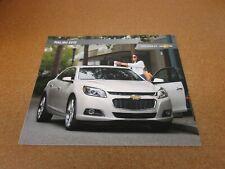 2015 Chevrolet Malibu sales brochure 32 pg dealer literature