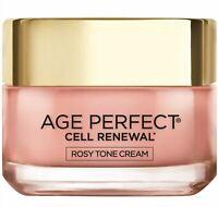 L'Oreal Paris Age Perfect Cell Renewal* Rosy Tone Moisturizer, 1.7 oz.