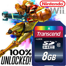 METROID PRIME Nintendo Wii SD CARD SAVES Prime Trilogy Corruption 3 Other M