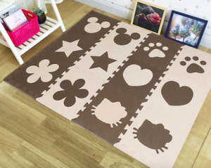 Baby And Children Play Floor Mat SOLID Eva Kids Puzzle Crawling Carpet For Games