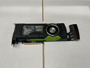 HP NVIDIA Quadro M6000 12GB GDDR5 PCI Express 3.0 x16 Graphic Card 801196-002