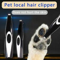 Rechargeable Mini Pet Cat Dog Electric Hair Grooming Trimmer Shaver Foot Clipper