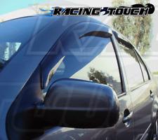 JDM Window Visor Deflector Out-Channel Smoke Tinted 4pcs Volkswagen Golf 99-05