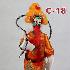 C-18 China Peking Oper chinesisch Puppe Figur Seide 31 cm Neu Geschenkidee OVP