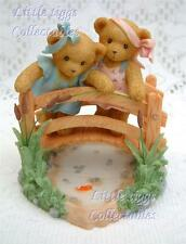 Cherished Teddies Sandy & Teia Limited Edition Event Exclusive & DOUBLE SIGNED