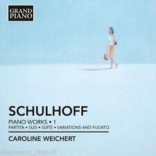 Schulhoff: Piano Works Vol 1 / Caroline Weichert - CD