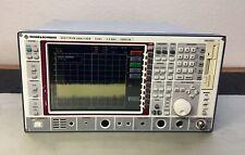 Rohde & Schwarz FSEA20 Spectrum Analyzer 9 kHz - 3.5 GHz Calibrated LOADED Opts
