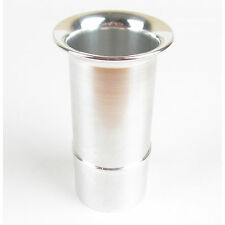 WEBER DCOE TWIN 45s Carbs/Carburettor SLOT-IN Aluminum Trumpet (75mm long)
