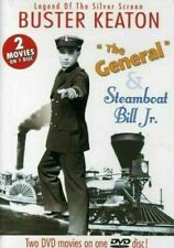 Buster Keaton Double Feature - The General/Steamboat Bill Jr. (Dvd, 2004) Tested