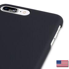iPhone 7 PLUS Cover Case - Black Matte, Anti-Slip Rubberized Hard Case Shell