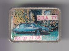 RARE PINS PIN'S .. AUTO CAR ANCIENNE OLD CLUB CITROEN ID IDE DS C.R.A. 77  ~C9
