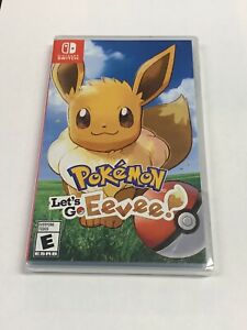 POKEMON LET'S GO EEVEE! NINTENDO SWITCH 2018 GAME BRAND NEW SEALED Free Shipping