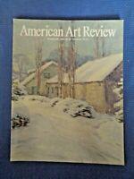 American Art Review 1999 Willard Metcalf William R. Leigh Thomas Nast Max Kuehne
