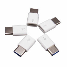 5 PCS Micro USB Female to Type C Male Adapter USB 3.1 Converter Connector USA