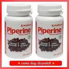 Piperina Forte piperyna-Smart Adelgazante-Quemador De Grasa 240 Capsulas Cromo Té Verde