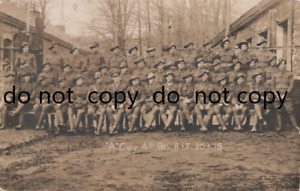 WW1 soldier group A Coy 4th Battalion Australian Imperial Forces AIF