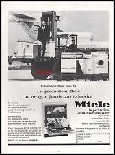 Publicité MIELE Lave Vaisselle  Dishwasher  photo vintage ad  1967 -3J