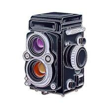 Rolleiflex Film Camera Pin
