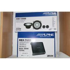 ALPINE BBX-T600 + ALPINE SXE-1350S AMPLIFICATORE 2 CH + KIT 2 VIE NUOVI