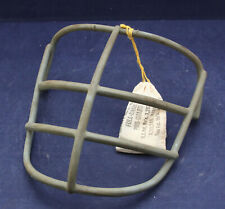 New listing NOS 1960s 70s Schutt  NJOP Red Dot Football Helmet Facemask with Clips > Grey