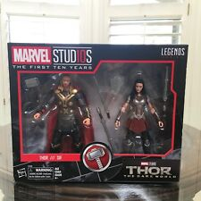 Marvel Legends Studios Thor & Lady Sif MCU 10th Anniversary 2 Pack Dark World