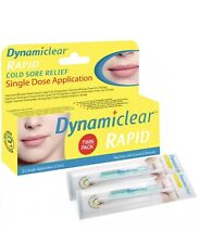 * DYNAMICLEAR RAPID SINGLE DOSE COLD SORE RELIEF 0.5ML - 2 Dose Pack
