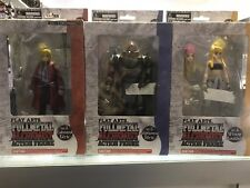 Square Enix Play Arts FULLMETAL ALCHEMIST set of 3 Edward, Alphonse & Winry