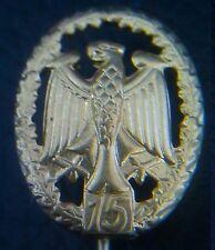 ✚0744✚ German Bundeswehr Military Proficiency Badge MINIATURE GOLD REPEAT V. 15