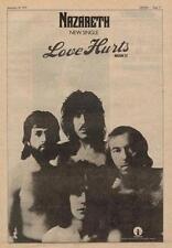 Nazareth Love Hurts UK '45 advert 1974