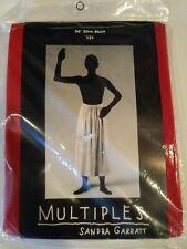 """Multiples Sandra Garratt Vintage 80's Modular 36"""" slim skirt red 121"""