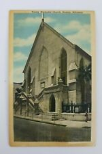 Vintage Postcard Trinity Methodist Church Nassau Bahamas
