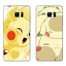 For Samsung Galaxy Note A5 A7 2016 Case Soft TPU Phone Back Cover Cute Game Pets