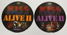 KISS ALIVE II PICTURE DISC SET - 10 INCH LIMITED EDITION TO 100