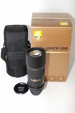 Near Mint!! Nikon AF-S NIKKOR 300mm f/4 D IF ED Black from Japan