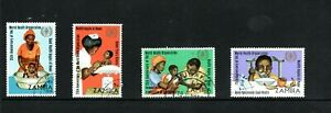 1973 Zambia 25th Anniversary of WHO set used