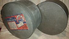 RARE GENUINE WW2 WAR TIME USED CHRISTMAS WILLOW SOLDIERS CAKE TIN