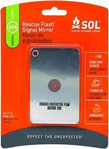 Adventure Medical Kits Essentials Rescue Flash Signal Mirror