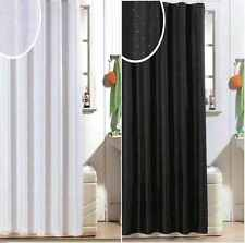 MODERN LUXURY DIAMANTE BATH BATHROOM SHOWER GLITTER CURTAIN CURTAINS WITH HOOKS