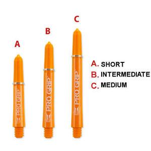Target Pro Grip Nylon Shafts - Orange (RVB)