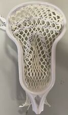New Tribe 7 Pre-Strung HS Lacrosse Head White Free Shipping