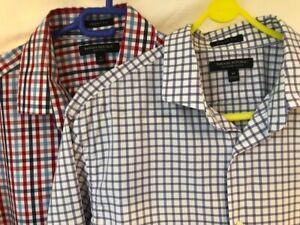 Two Banana Republic medium slim fit shirts excellent condition