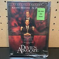 The Devil's Advocate Out Of Print OOP DVD Keanu Reeves Al Pacino BRAND NEW