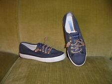~SPERRY TOP-SIDER~ Womens Black Canvas Shoes, Sneakers, Sz. 6M.