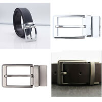 Reversible Single Pin Rectangular Buckle Vintage Belt Buckle Replacement