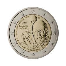 """Greece 2 Euro commemorative coin 2014 - """"Domenikos Theotokopoulos"""" - UNC"""